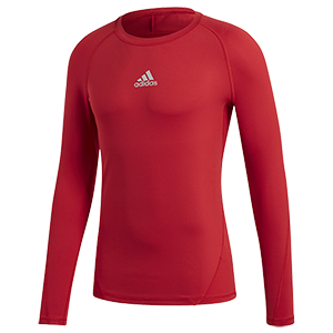 SOUS-MAILLOT MANCHES LONGUES ROUGE I MFTE01433-E