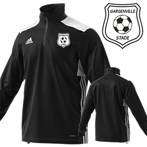 SWEAT TRAINING REGISTA 18 NOIR STADE GARGENVILLOIS FOOTBALL CLUB I MFTE01478-A