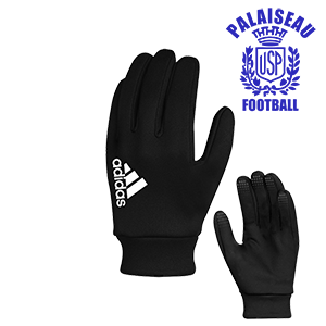 GANTS FIELDPLAYER NOIRS US PALAISEAU FOOTBALL I MFAC00660-A I CW5640