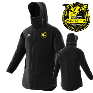 PARKA STADIUM CONDIVO 18 NOIRE AS MANISSIEUX FOOTBALL I MFTE01470-A