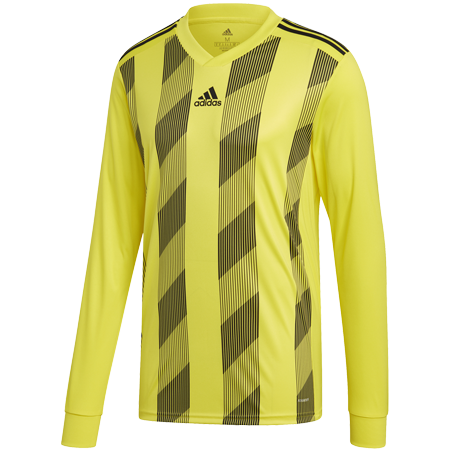 MAILLOT ADIDAS STRIPED 19 ML JAUNE I ADTE01525-E I DP3212