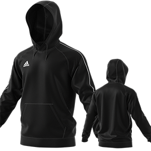 SWEAT CAPUCHE CORE 18 NOIR I MFTE01484-A