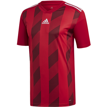 MAILLOT ADIDAS STRIPED 19 ROUGE I ADTE01524-F I DU4395 & DP3199