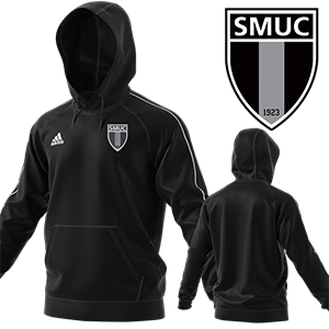 SWEAT CAPUCHE CORE 18 NOIR SMUC FOOTBALL I MFTE01484-A