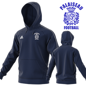 SWEAT CAPUCHE CORE 18 MARINE US PALAISEAU FOOTBALL I MFTE01484-B