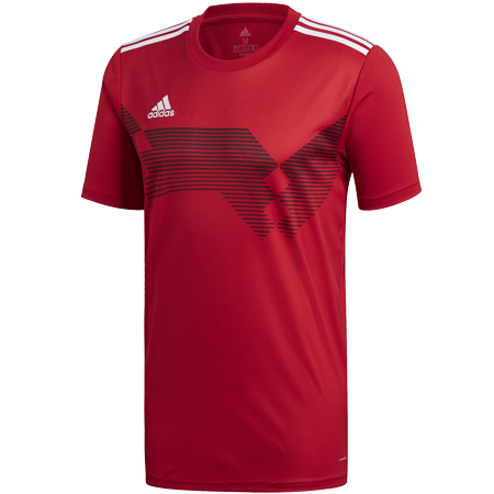 MAILLOT ADIDAS CAMPEON 19 ROUGE I ADTE01523-B I DP3693 & DP6809