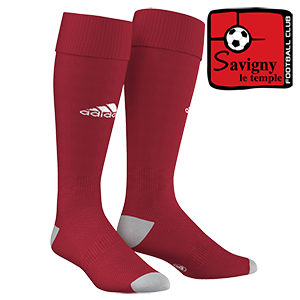 CHAUSSETTES MILANO 16 ROUGES SAVIGNY LE TEMPLE FOOTBALL CLUB I MFTE01262-G