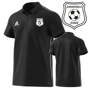 POLO CORE 18 NOIR STADE GARGENVILLOIS FOOTBALL CLUB I MFTE01489-A