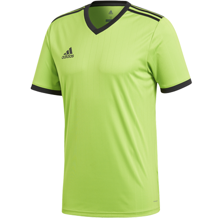 MAILLOT ADIDAS TABE 18 VERT MACAW I ADTE01429-K I GH1672 & CE1716