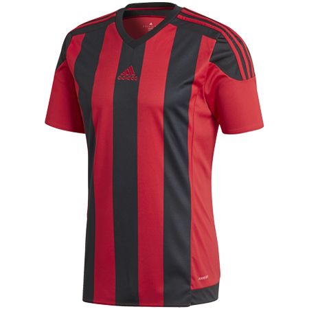 MAILLOT ADIDAS STRIPED 15 ROUGE & NOIR I ADTE01602-G I AA3726