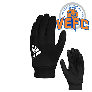 GANTS FIELDPLAYER NOIRS VAL D'EUROPE FOOTBALL I MFAC00660-A