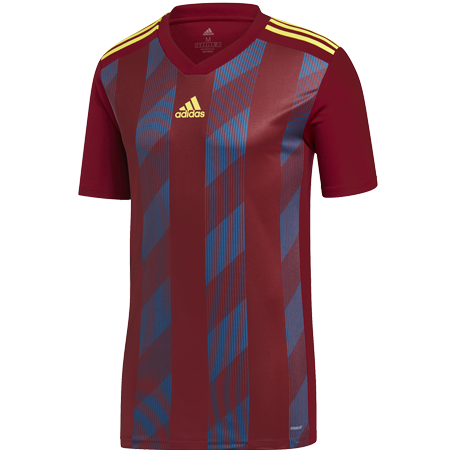 MAILLOT ADIDAS STRIPED 19 BORDEAUX I ADTE01524-C I DW9717 & DP3203