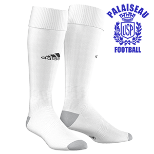 CHAUSSETTES MILANO 16 BLANCHES US PALAISEAU FOOTBALL I MFTE01262-B