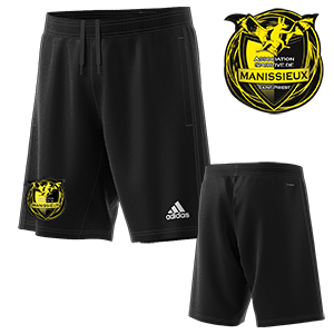 SHORT TRAINING CONDIVO 18 NOIR AS MANISSIEUX FOOTBALL I MFTE01460-A