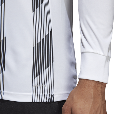 MAILLOT ADIDAS STRIPED 19 ML BLANC I ADTE01525-A I DP3210