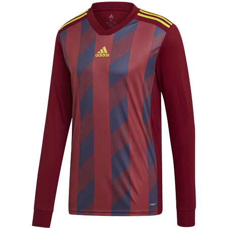 MAILLOT ADIDAS STRIPED 19 ML BORDEAUX I ADTE01525-C I DP3211