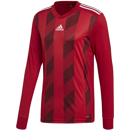 MAILLOT ADIDAS STRIPED 19 ML ROUGE I ADTE01525-F I DP3207